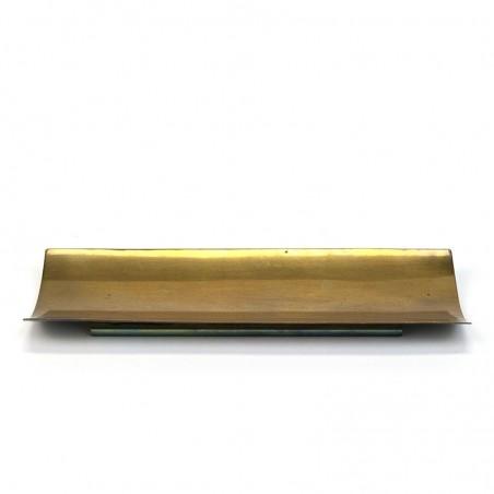 Vintage brass pen holder