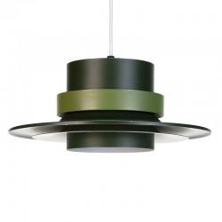 Groene Scandinavische vintage hanglamp