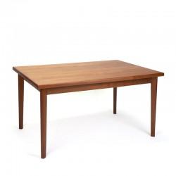 Teak Danish vintage dining table from Brdr. Furbo
