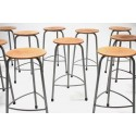 Industrial stool by Ahrend