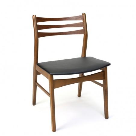 Danish vintage dining table chair from Faldsled Møbelfabrik