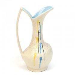 Foreign earthenware vintage Scheurich vase