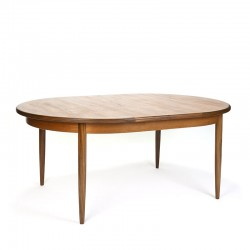 Vintage Gplan dining table extendable oval model