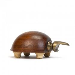 Small Danish vintage opener in turtle shape