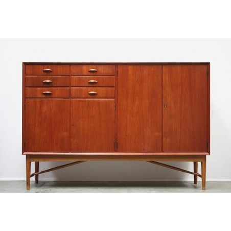 Teak sideboard high model
