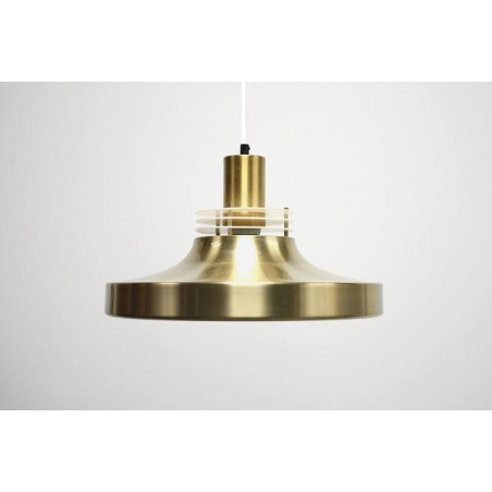 Brass colored hanging lamp 2