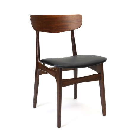 Schiønning and Elgaard vintage dining table chair in teak