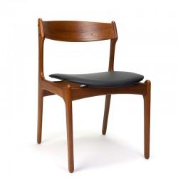Vintage Erik Buck model 49 stoel in teak