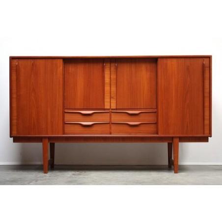 Teakhouten dressoir groot vintage