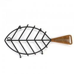 Danish vintage pan coaster Fish