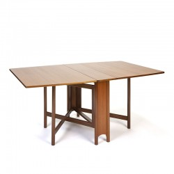 McIntosh vintage design folding dining table