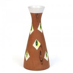 Italian vintage small ceramic vase from Fiamma