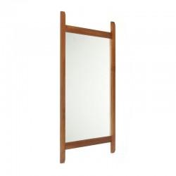 Teak Danish vintage mirror