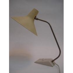 Table lamp 50's yellow lamp shade