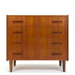 Teak vintage chest of drawers from the P. Westergaard