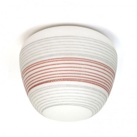 Plafondlamp uit de jaren vijftig vintage model