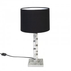 Vintage table lamp in brutalist style