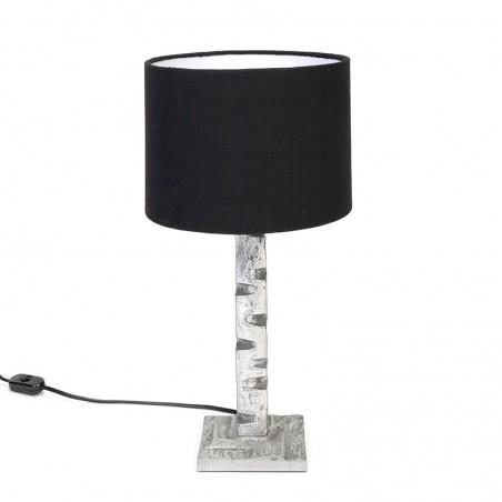 Vintage table lamp in brutalist style