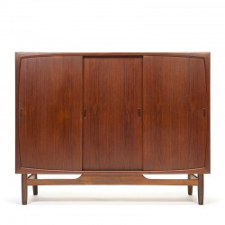 Danish vintage sideboard in teak with a small bar space