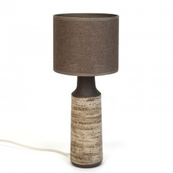 Vintage table lamp design Ravelli Birch bark series