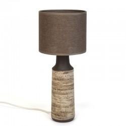 Vintage tafellamp ontwerp Ravelli Berkenbast serie