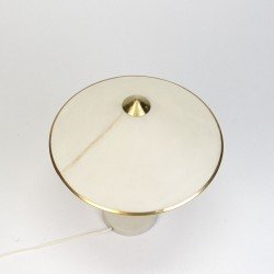 Deense vintage jaren zestig tafellamp met messing detail
