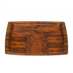 Vintage rosewood Danish Langva tray