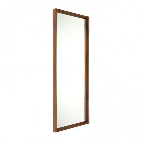 Danish large model vintage mirror from the sixties