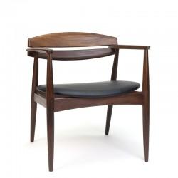 Designer armchair designed by John Sylvester and Jørgen Matz