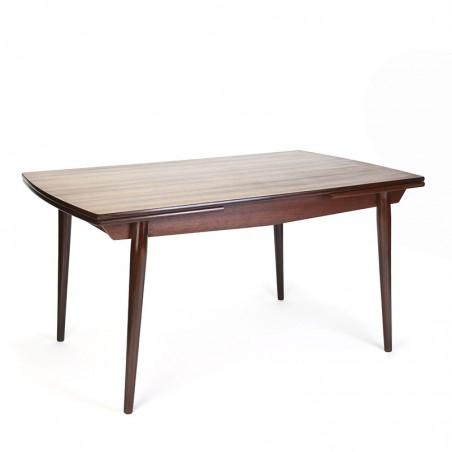 Danish teak vintage extendable dining table