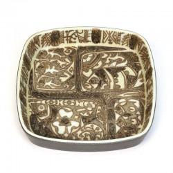 Aluminia Baca vintage bowl design Nils Thorsson no. 719/2883