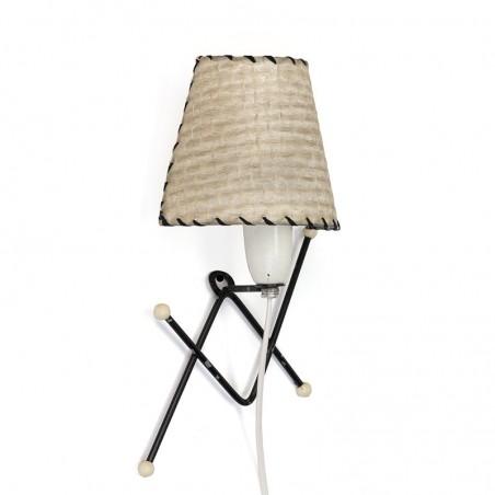 Vintage wandlamp uit de vijftiger jaren