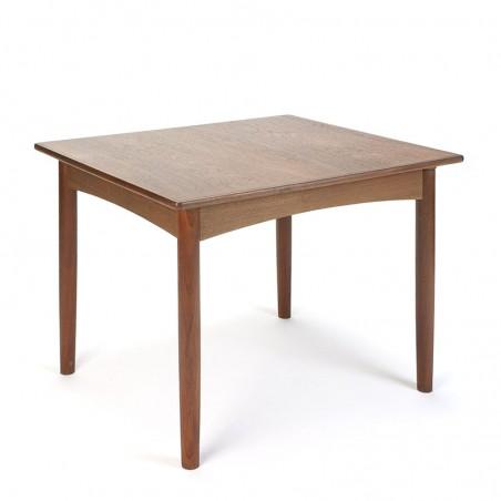 Small vintage teak Danish kitchen table