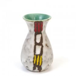 Vintage earthenware Jasba vase small model