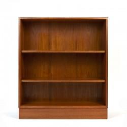 Gplan vintage teak low bookcase