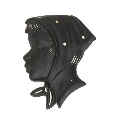 Aardewerken vintage silhouet van Kroon nr 304