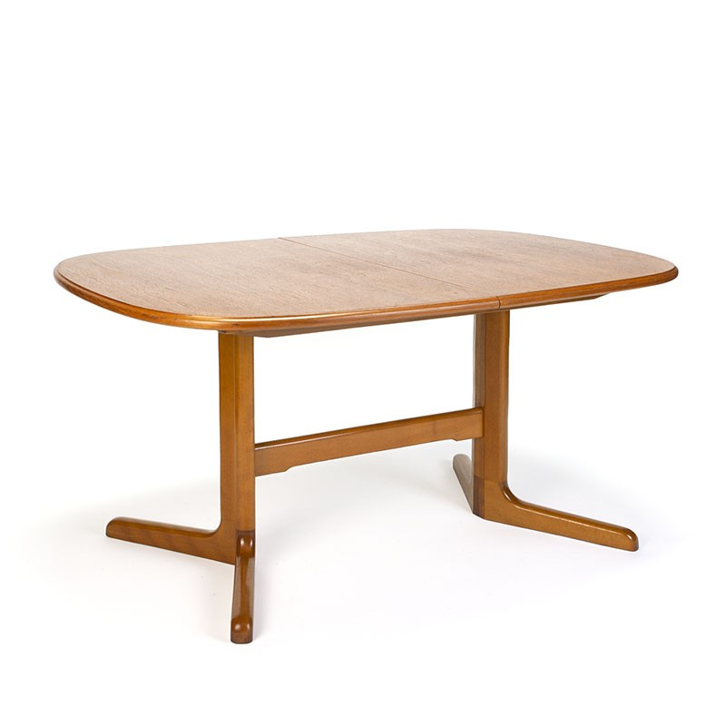 Danish vintage extendable dining table from Farstrup Mobler