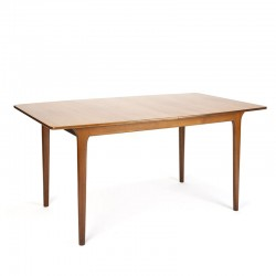 Teak extendable vintage dining table from McIntosh