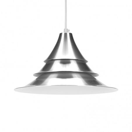Aluminium Deense kleine vintage hanglamp