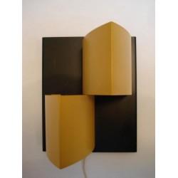 Anvia wandlamp zwart/geel