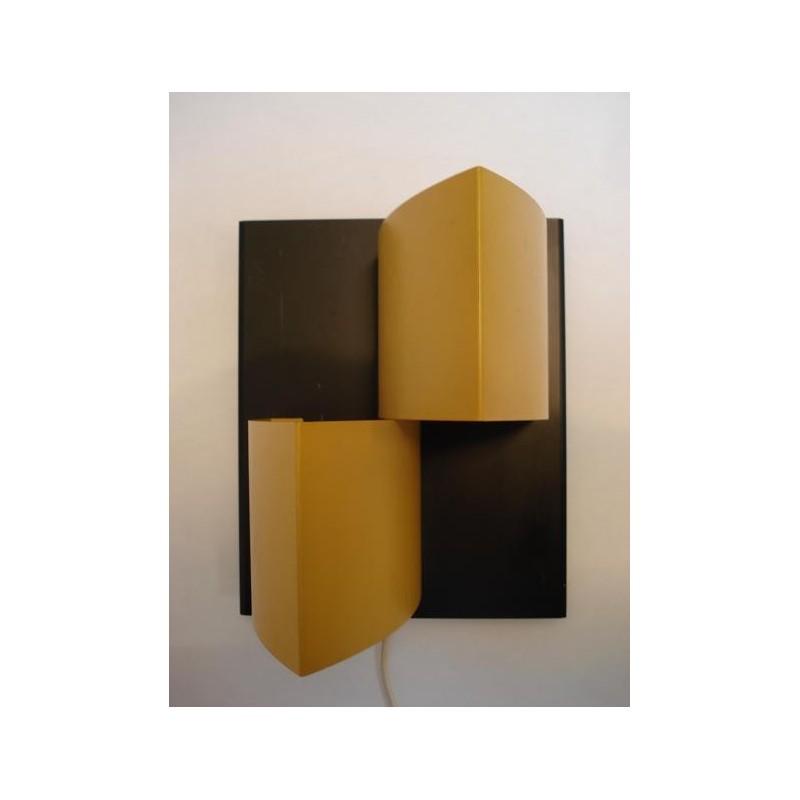 Anvia wall lamp black/yellow