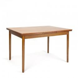 Teak vintage Danish dining table small model