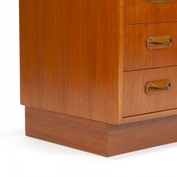 Low model vintage Gplan chest of drawers