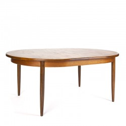 Gplan ovaal model vintage uitschuifbare eettafel