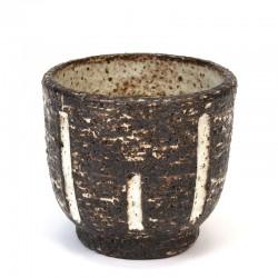 Small vintage flower pot from Zaalberg ceramics