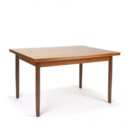 Teak vintage Danish extendable dining table