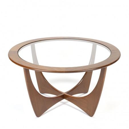 Gplan Astro model vintage coffee table with teak frame