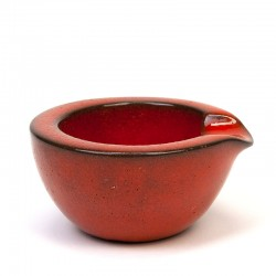 Small ceramic vintage ashtray from Ravelli
