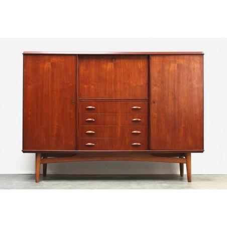 Teakhouten dressoir/ secretaire