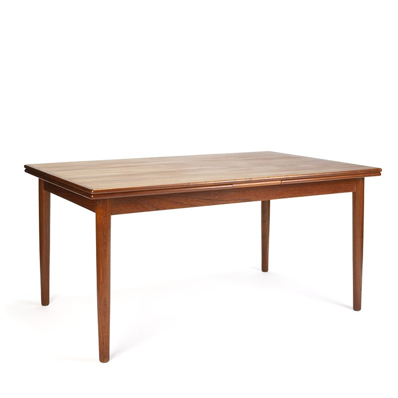 Vintage spacious model Danish extendable dining table